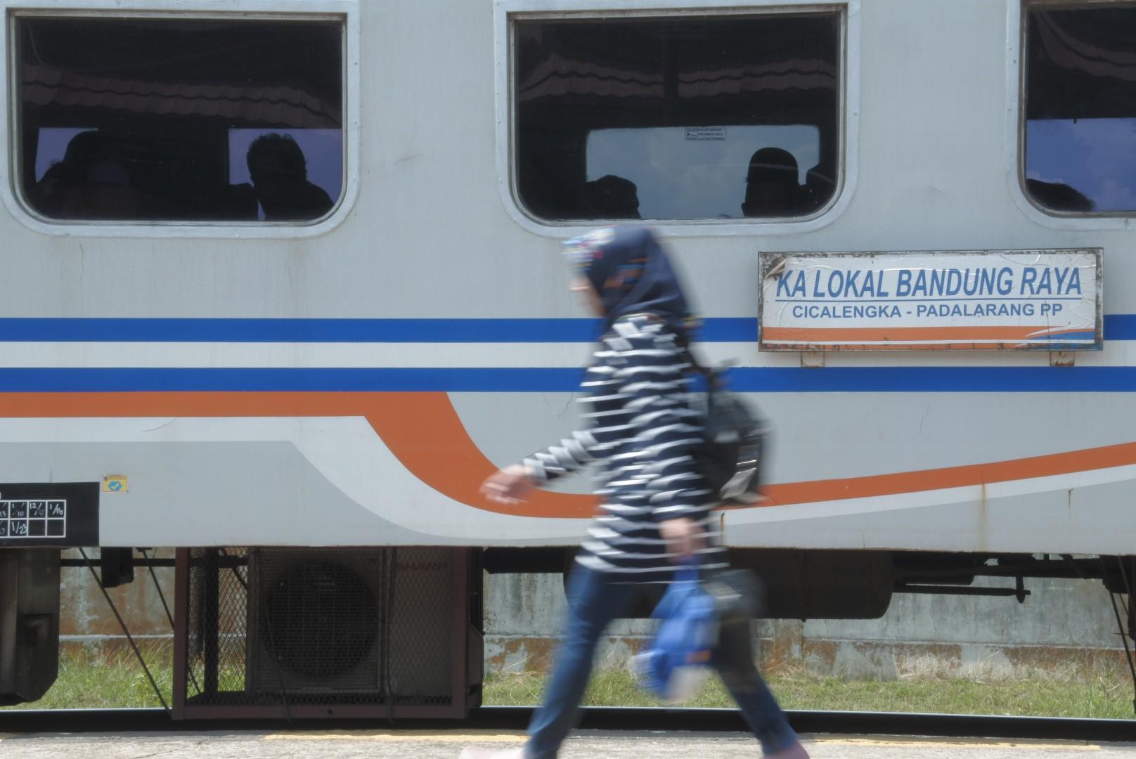[FOTO] Suasana Stasiun Cimekar Kota Bandung