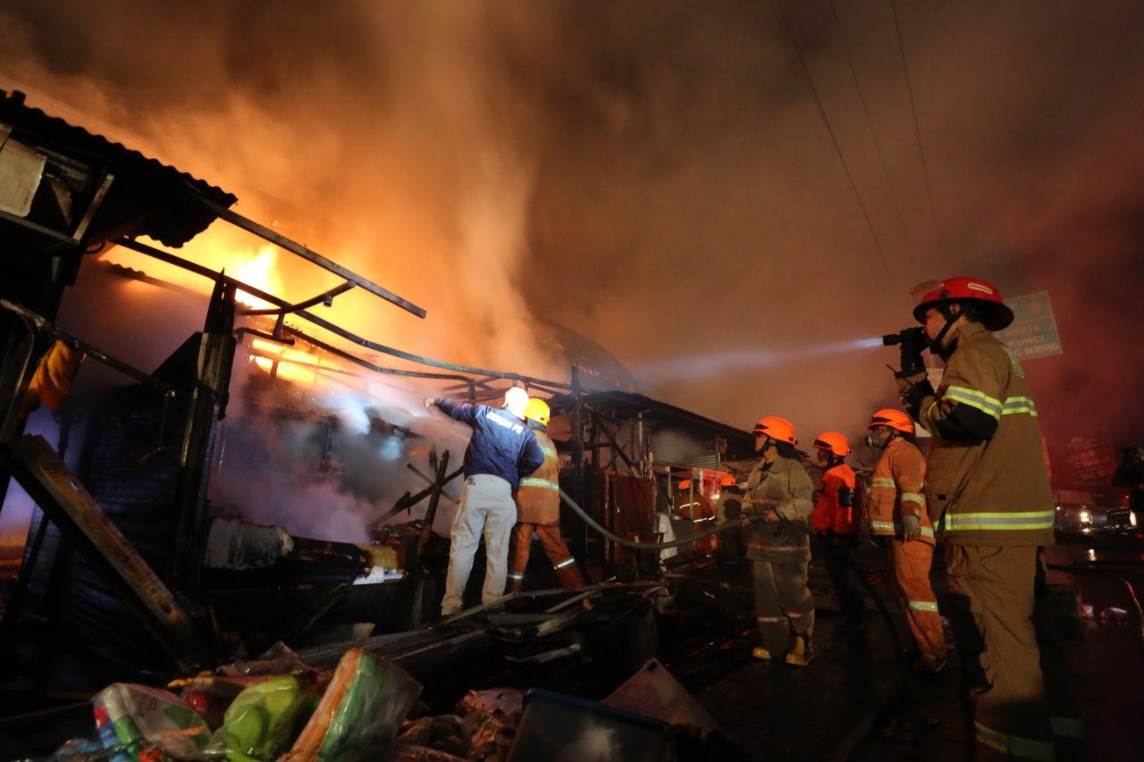 Di Kota Bandung, 121 Bangunan Terbakar Sepanjang 2019