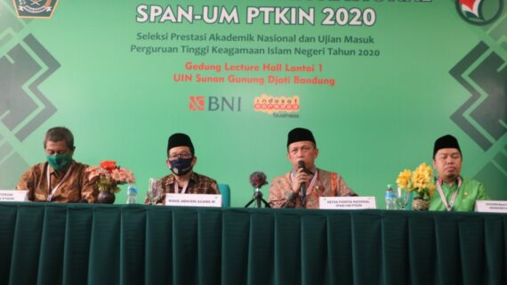 Monitoring UM-PTKIN di UIN Bandung, Kemenag RI Sebut Peminat PTKIN Menigkat