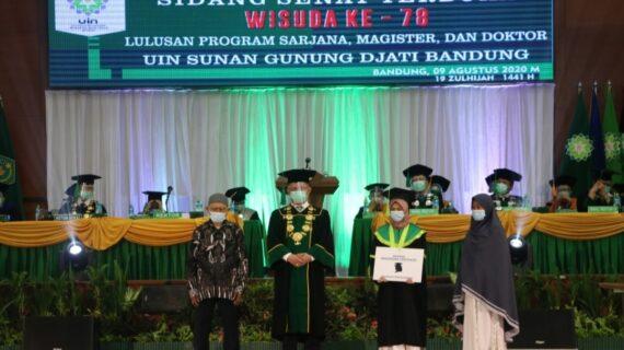 Mengenal Siti Rodiah, Lulusan UIN Bandung dengan IPK 3,71 Pernah Jadi Pencuci Piring dan Jual Gorengan,  Berhasil Lulus Kuliah dalam 3,5 Tahun