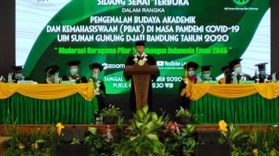 Sebanyak 7329 Mahasiswa Baru UIN Sunan Gunung Djati Bandung Berhasil Dilantik