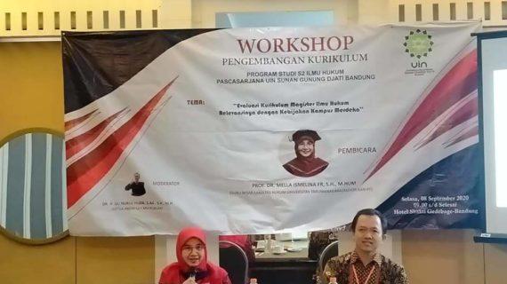 Prodi Magister Ilmu Hukum UIN Bandung Gelar Workshop Pengembangan Kurikulum