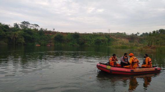 Tim SAR Gabungan Temukan Korban Tenggelam di Danau Ciwideung Dalam Keadaan Meninggal Dunia