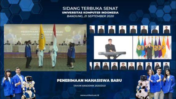 Sambut Maba, Unikom Gelar Sidang Senat Terbuka Secara Daring
