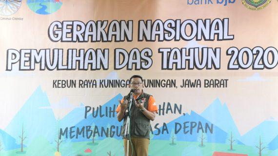 Akhir 2021, Gerakan Tanam dan Pelihara 50 Juta Pohon di Jawa Barat Terealisasi