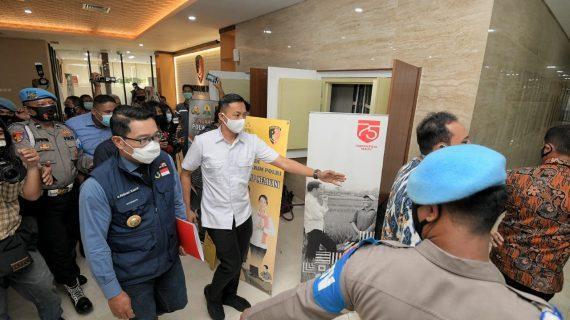 Soal Kerumunan di Megamendung, Ridwan Kamil Beri Klarifikasi ke Bareskrim Polri