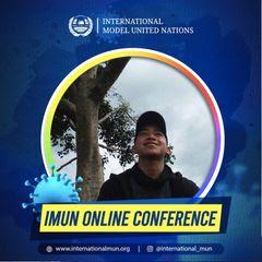 Ini Dia, M. Yoga Firdaus Mahasiswa UIN Bandung yang Tampil Di IMUN Online Conference 2020