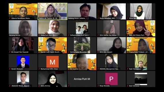 Tingkatkan Pengetahuan Ekonomi Digital, MKS UIN Bandung Gelar Kuliah Umum Fintech Syariah