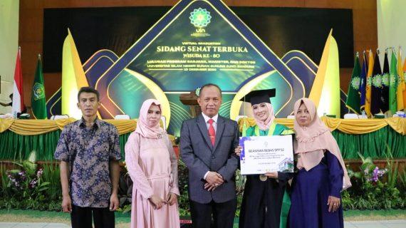 Cerita Elis Siti Sondari dan Wida Ramdania Bisa Menjadi Lulusan Terbaik UIN Bandung pada Wisuda Ke 80