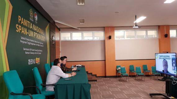 Panitia Nasional SPAN UM-PTKIN 2021 Terus Kembangkan Aplikasi Sadata dan PDSS