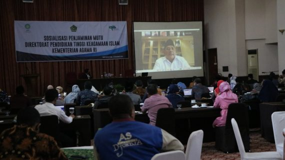 Sosialisasi Penjaminan Mutu Direktorat Pendidikan Tinggi Kegamaan Islam Kementerian Agama RI
