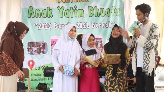 Inspiratif, Pemuda Kabupaten Bandung dan Bandung Barat Isi Tahun Baru dengan Santunan Untuk Anak Yatim