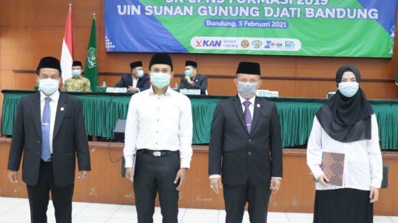 UIN Sunan Gunung Djati Bandung Gelar Pembinaan dan Penyerahan SK CPNS Formasi 2019