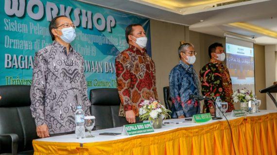 UIN Sunan Gunung Djati Bandung Gelar Workshop Sistem Kelola Keuangan Ormawa di Era Pandemi